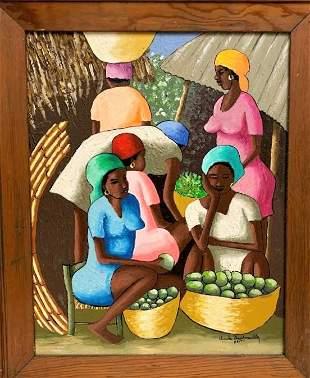Claude Dambreville (Haitian Master)