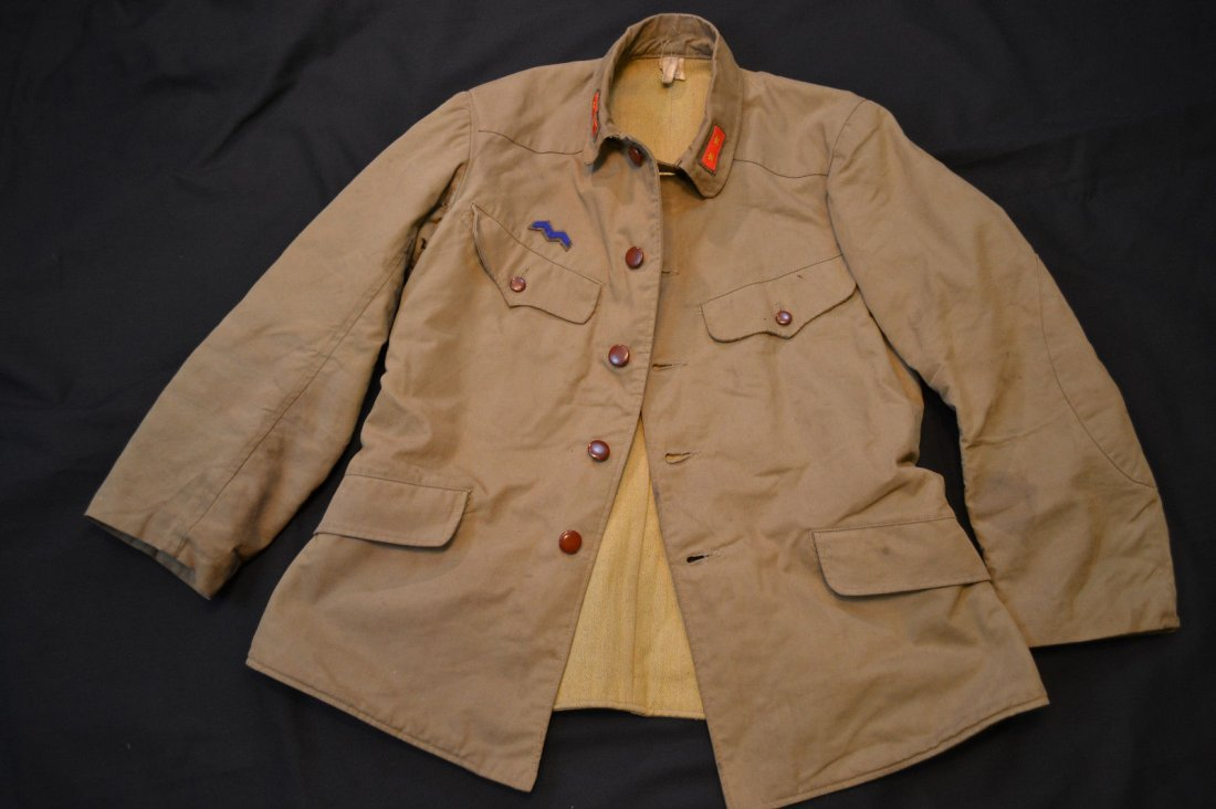 WWII IMPERIAL JAPANESE TYPE 98 SERVICE ISSUE TUNIC