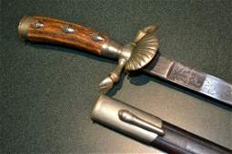 IMPERIAL GERMAN PRE WWI WWII HUNTING SWORD DAGGER