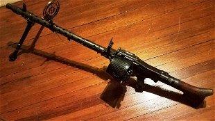 WWII German MG-34 De-Militarized Machine Gun - Feb 01, 2015 | The