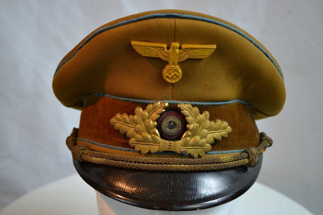 WWII GERMAN NAZI PARTY LEADER NSDAP BROWN HAT CAP