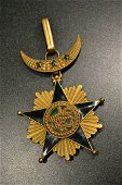 FRANCE COLONIAL ORDER OF STAR OF GRAND COMORO NECK TYPE