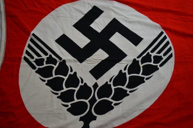 WWII NAZI GERMAN RAD FEMALE YOUTH CAMP FLAG