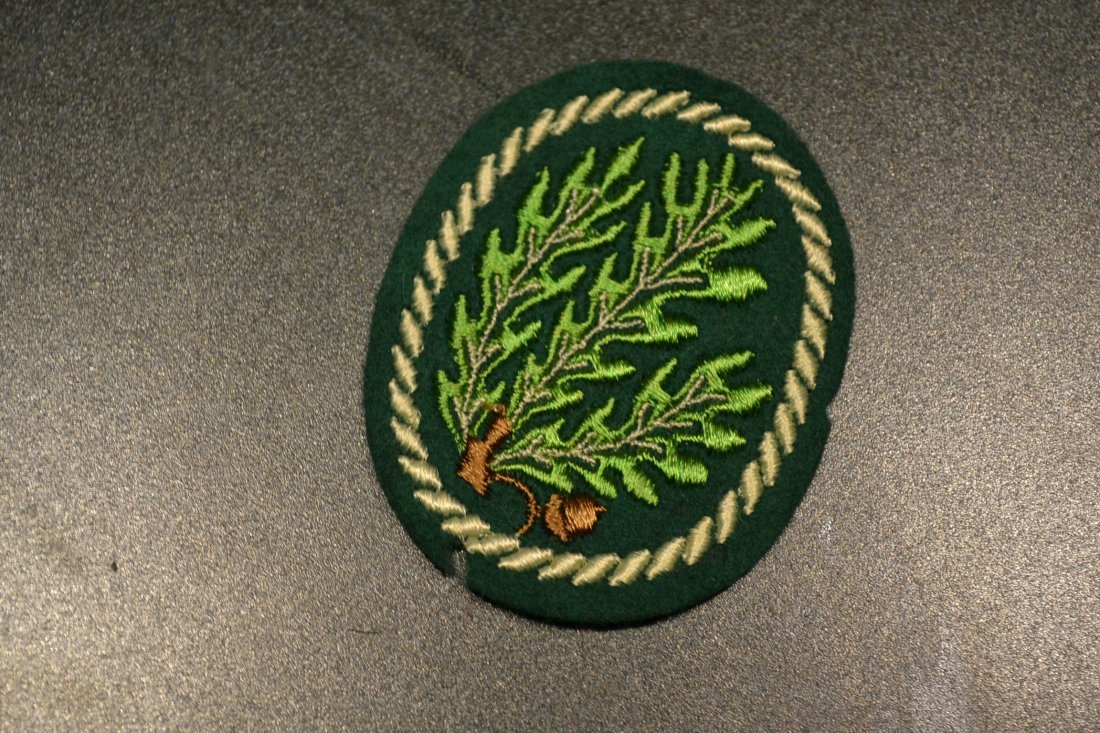 WWII GERMAN ARMY JAGER SLEEVE PATCH