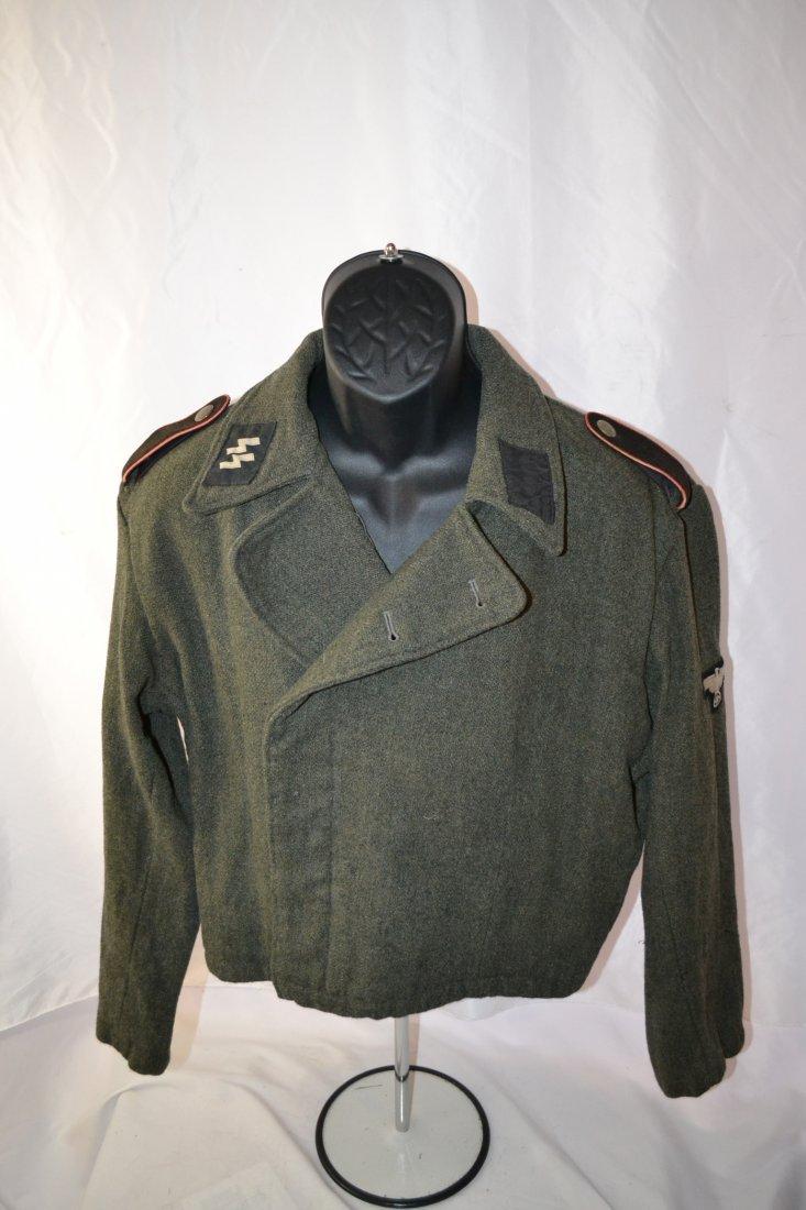 WWII GERMAN SS ASSAULT GUNNERS PANZER UNIFORM WRAP