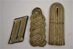 WWI / WWII GERMAN INSIGNIA LOT SHOULDER BOARDS / TAB