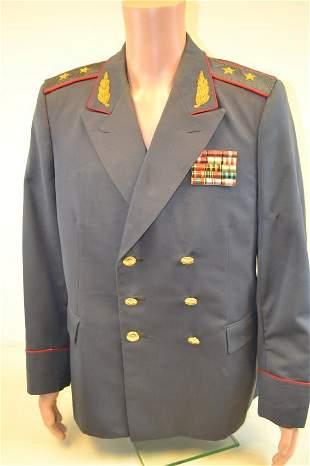 SOVIET RUSSIAN POLICE MVD GENERAL UNIFORM GREAT COAT