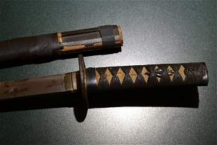ANTIQUE OLD JAPANESE WAKIZASHI SAMURAI SWORD