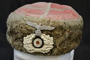 WWII GERMAN KUBAN  RUSSIAN COSSACKS KUBANKA HAT