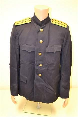 WWII SOVIET RUSSIAN NAVY BORDER COAST GUARD OFFICER