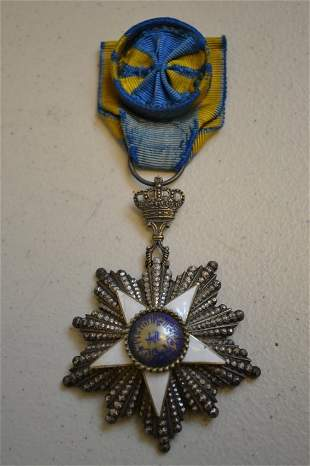 EGYPT ORDER OF THE NILE 4th CLASS RARE EGYPTIAN ORDER