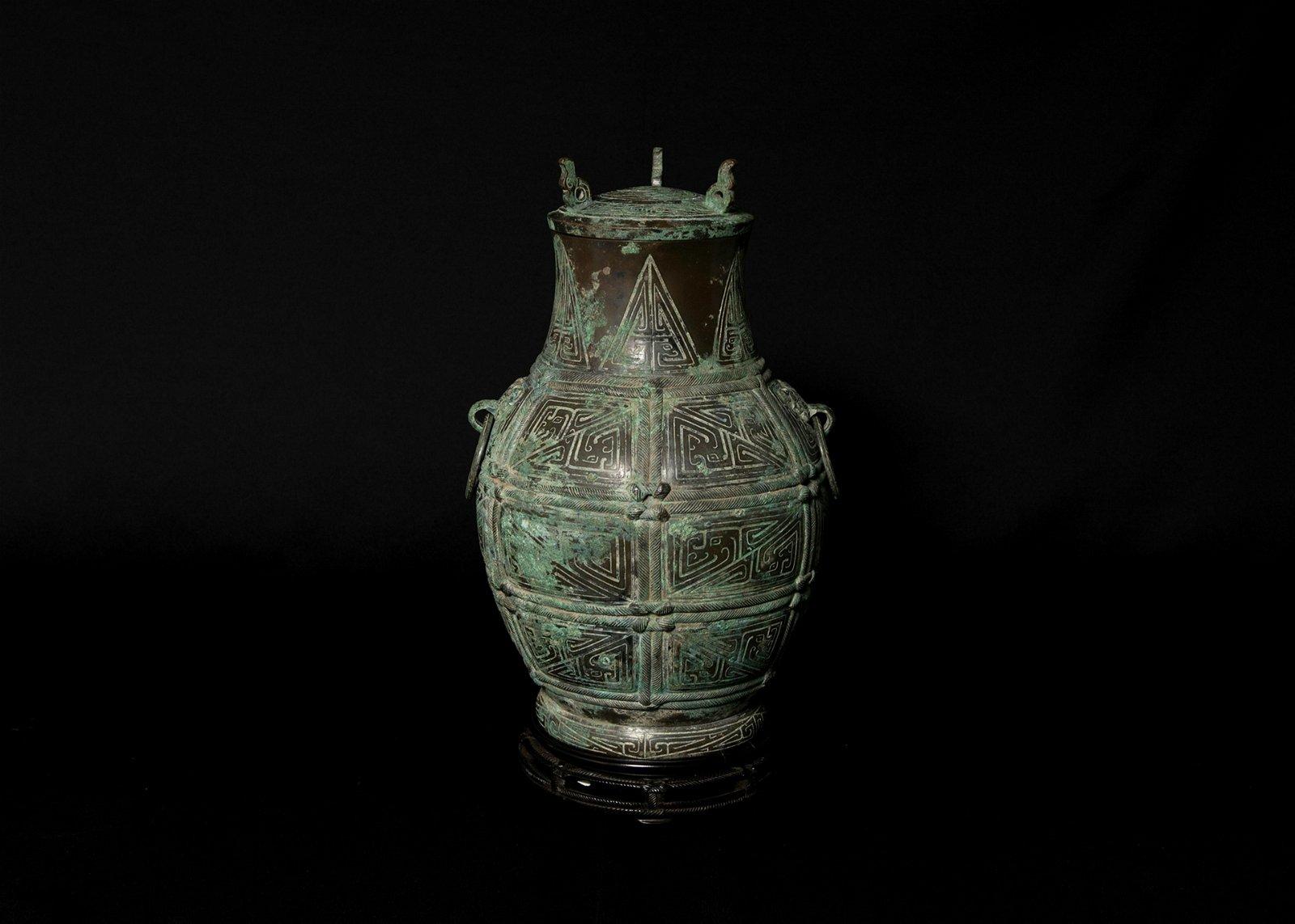A Chinese Bronze Ritual Vessel