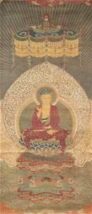 A Chinese Buddha Painting