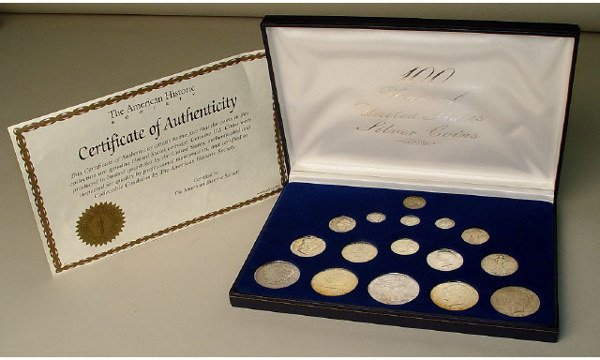 1005: 100 Years of US Coins Silver Set