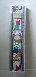 Pop Art Swatch Watch The Life Saver in the original