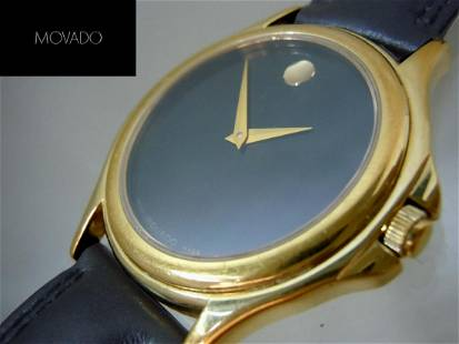 A nice preowned Gold Tone Stainless Steel Classic
