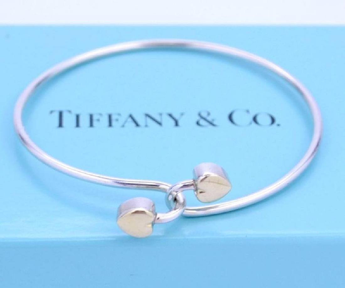 Tiffany 18Kt Yellow Gold and Sterling Silver