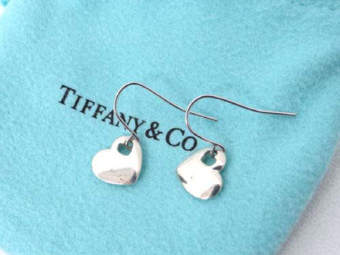 Tiffany and Co. Sterling Silver Elsa Peretti Heart Hook