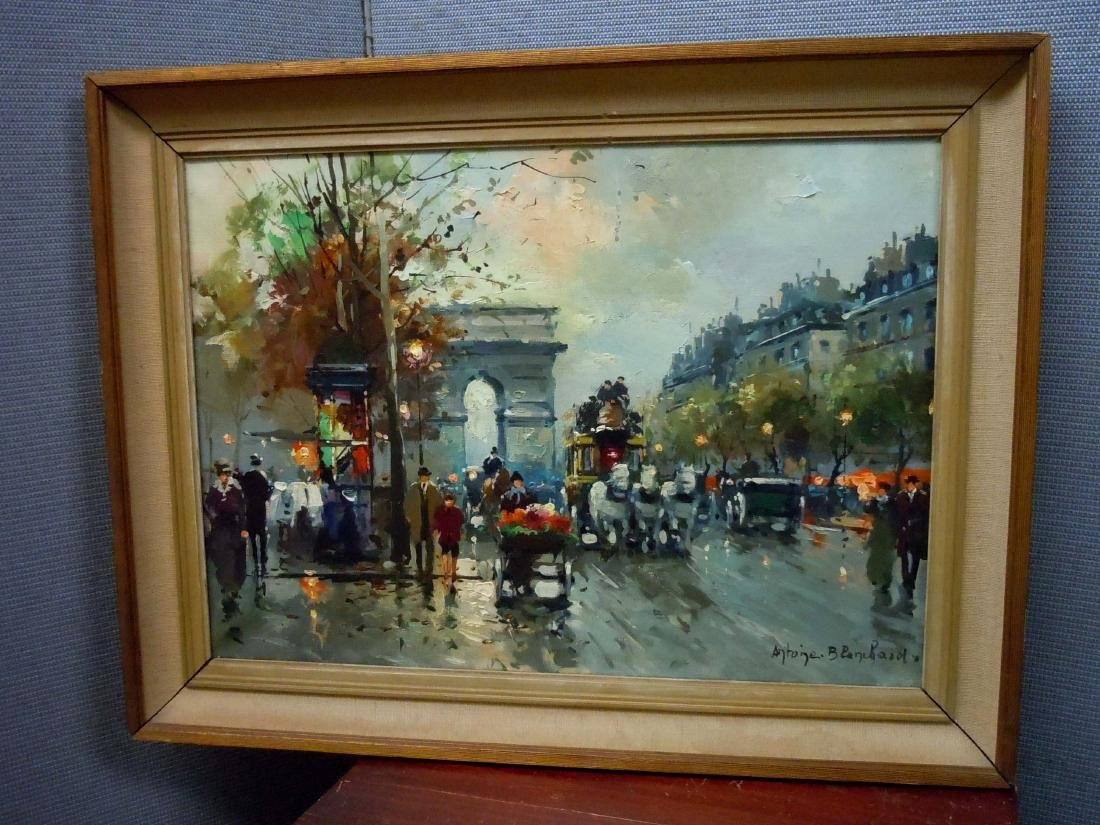 Antoine Blanchard  A View of Arc De Triomphe From the