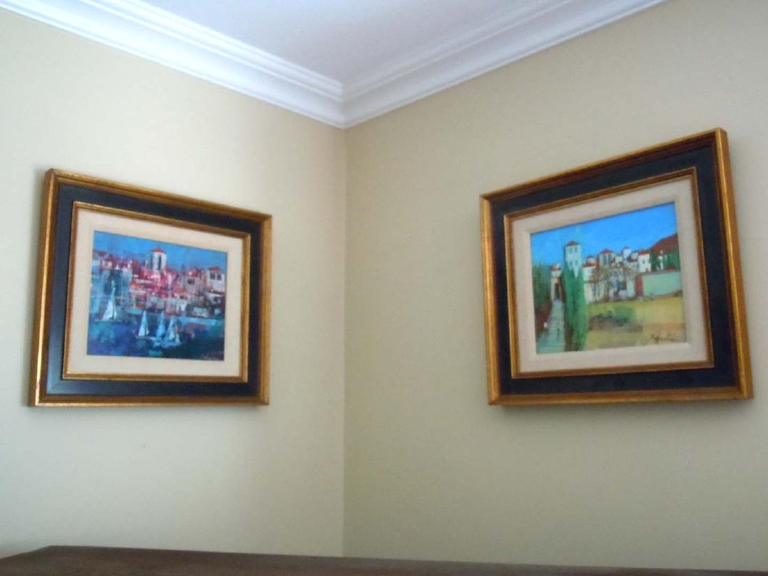Impressionist Italian LandScape Seascape Oil Paintings