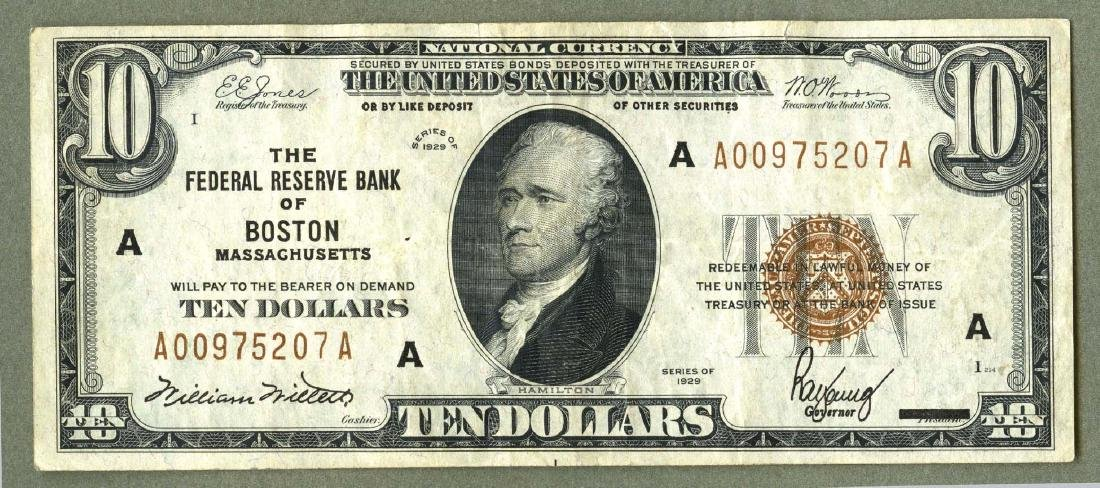 1929 Type I National Currency The National City Bank of