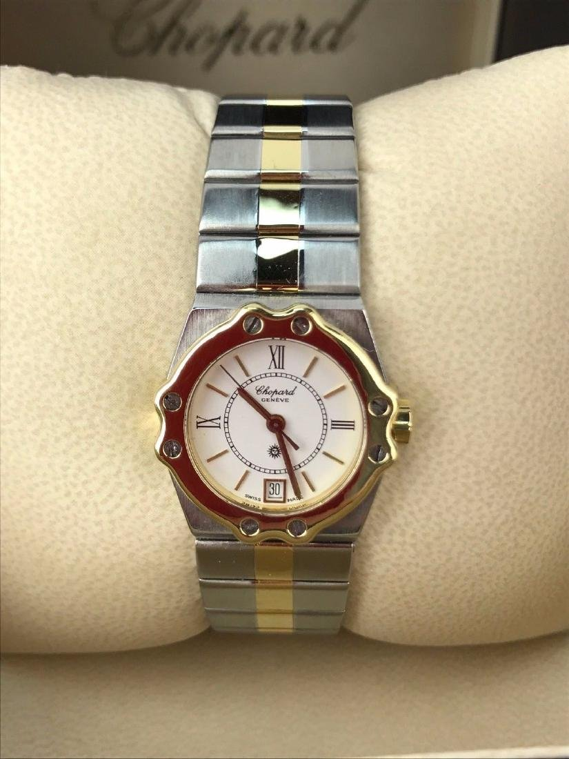 18K Gold Stainless Steel Lady's Chopard St. Moritz 8023