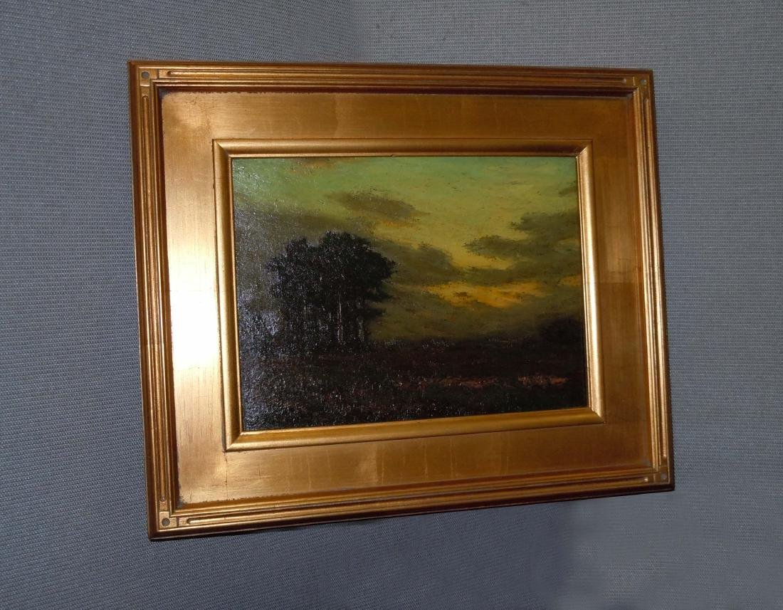 Charles Warren Eaton Tonalist Landscape Oil on Board