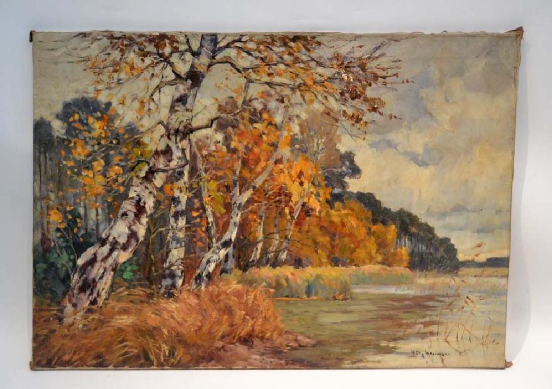 DESCRIPTION: Willie Herrmann (Berlin, 1895-1963) Oil on