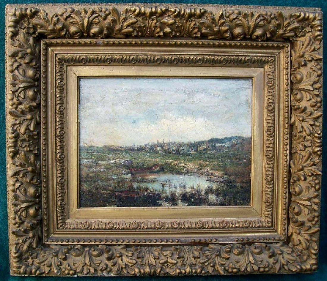 James Gale Tyler Oil Painting 1888 Ny Impressionist