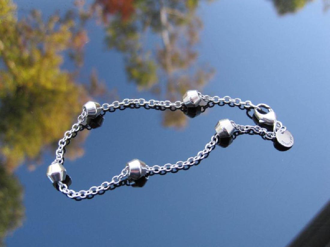 Tiffany Sterling Barrel Bead By The Yard Bead Chain