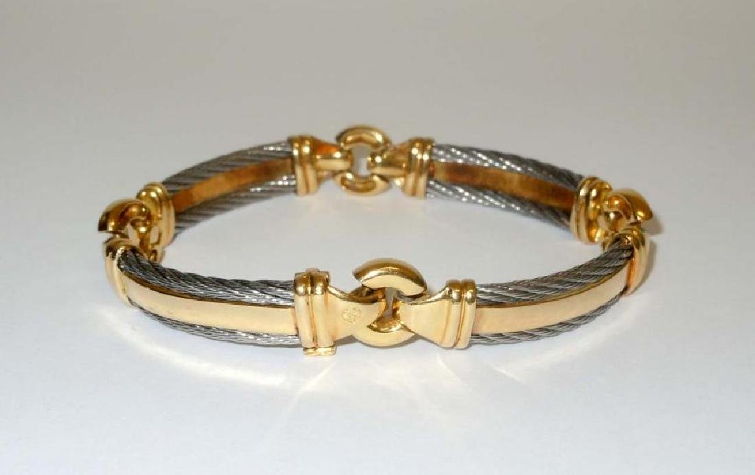 Philippe Charriol 18k Gold and Stainless Steel 10mm