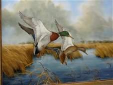 Charles E. Murphy Mallard Ducks Smooth Landing