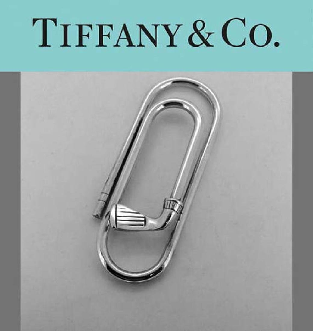 Tiffany and Co. Sterling Silver Golf Club Money Clip,