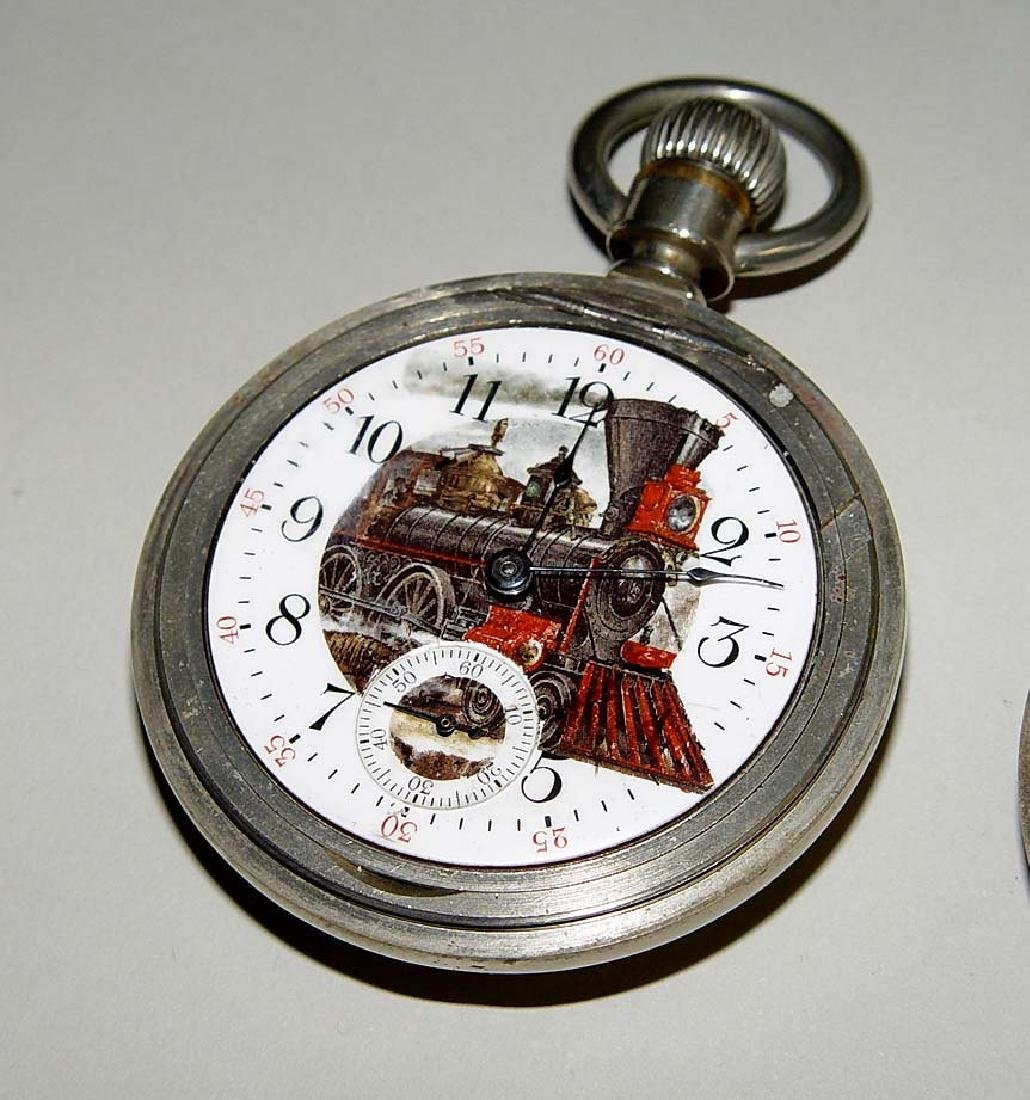 1883 American Waltham rail road pocket watch with a