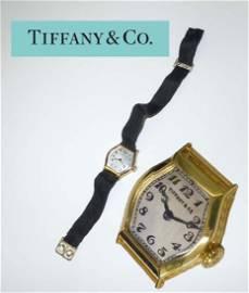 Rare Mens 18Kt Yellow Gold Art Deco Tiffany and Co.