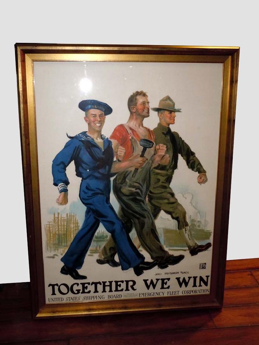 WORLD WAR I PROPAGANDA POSTER JAMES MONTGOMERY FLAGG