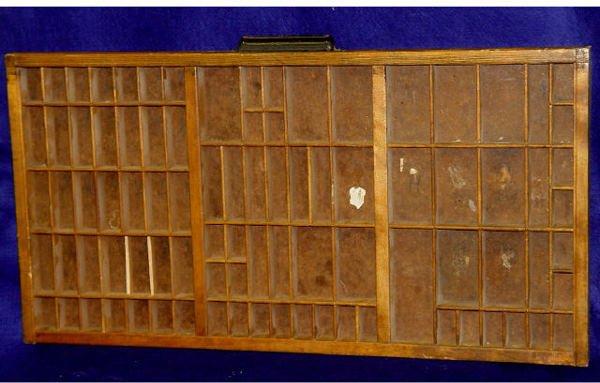 3: Vintage Hamilton Printer Box
