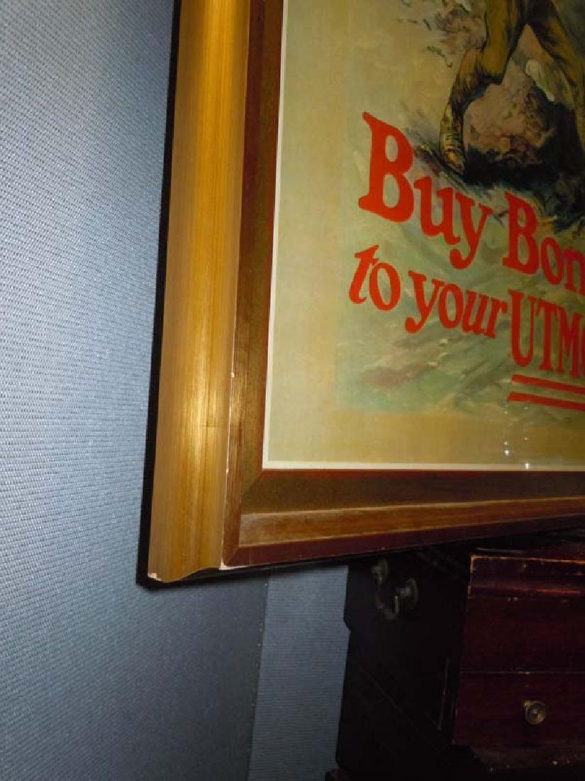 WWI POSTER EDMUND MARION ASHE LEND THE WAY BUY WAR - 4
