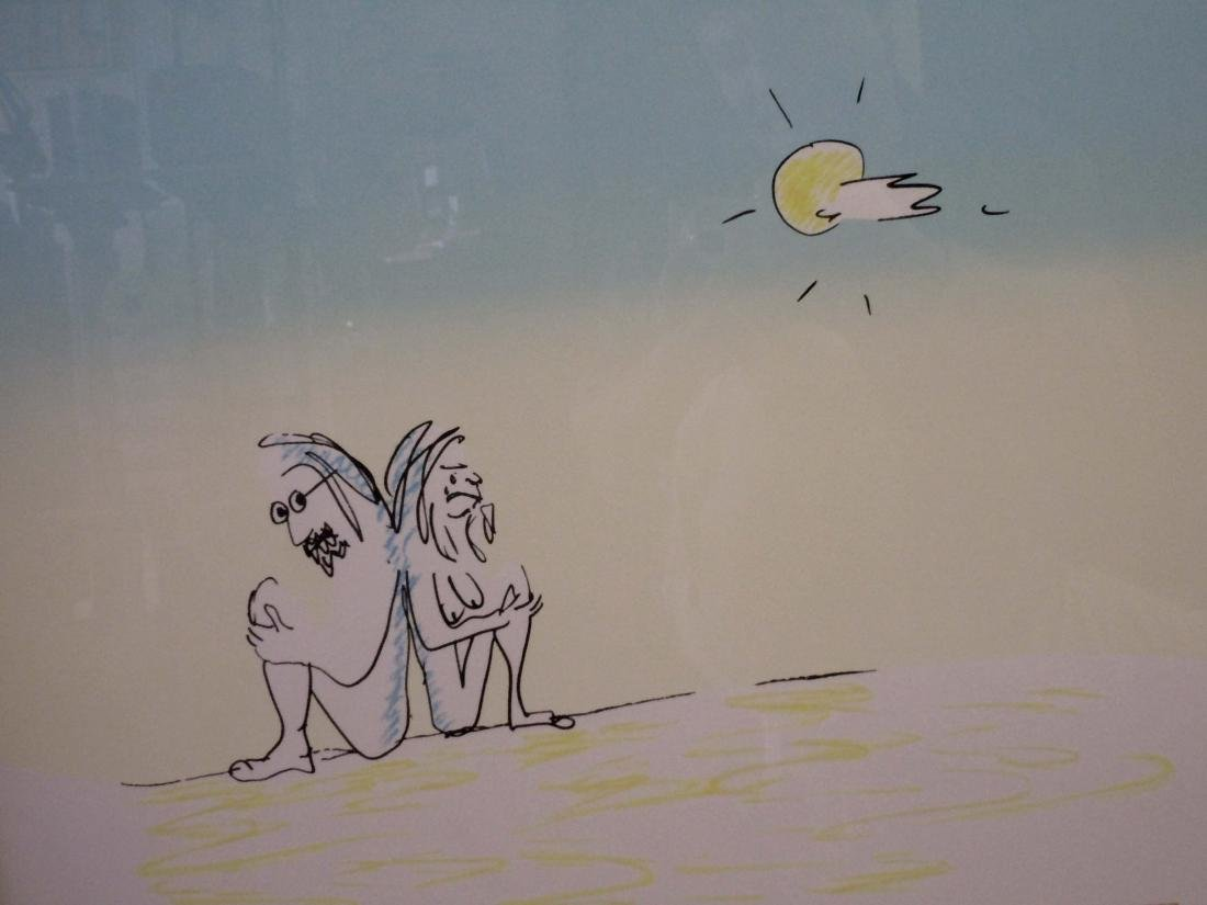 AISUMASEN I'M SORRY 1979 JOHN LENNON YOKO ONO PRINT - 2