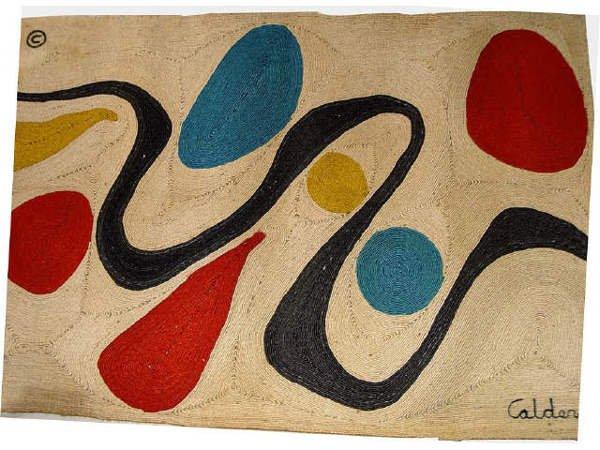 """116: Alexander Calder """"Turquoise"""" ed 81 of 100 Bon Art"""