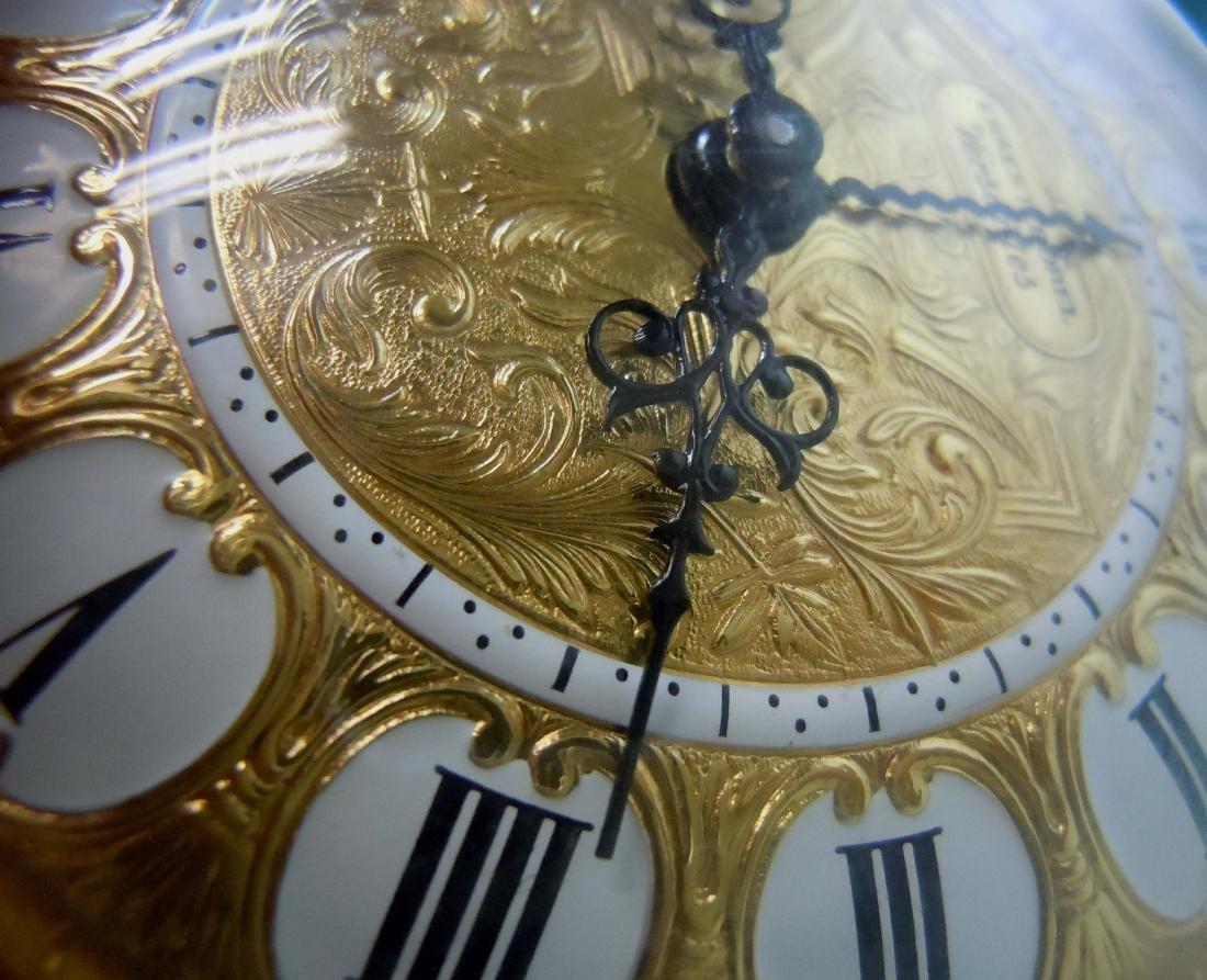 ROCOCO REVIVAL ERNEST BOREL VERSAILLES 8 DAY CLOCK - 8