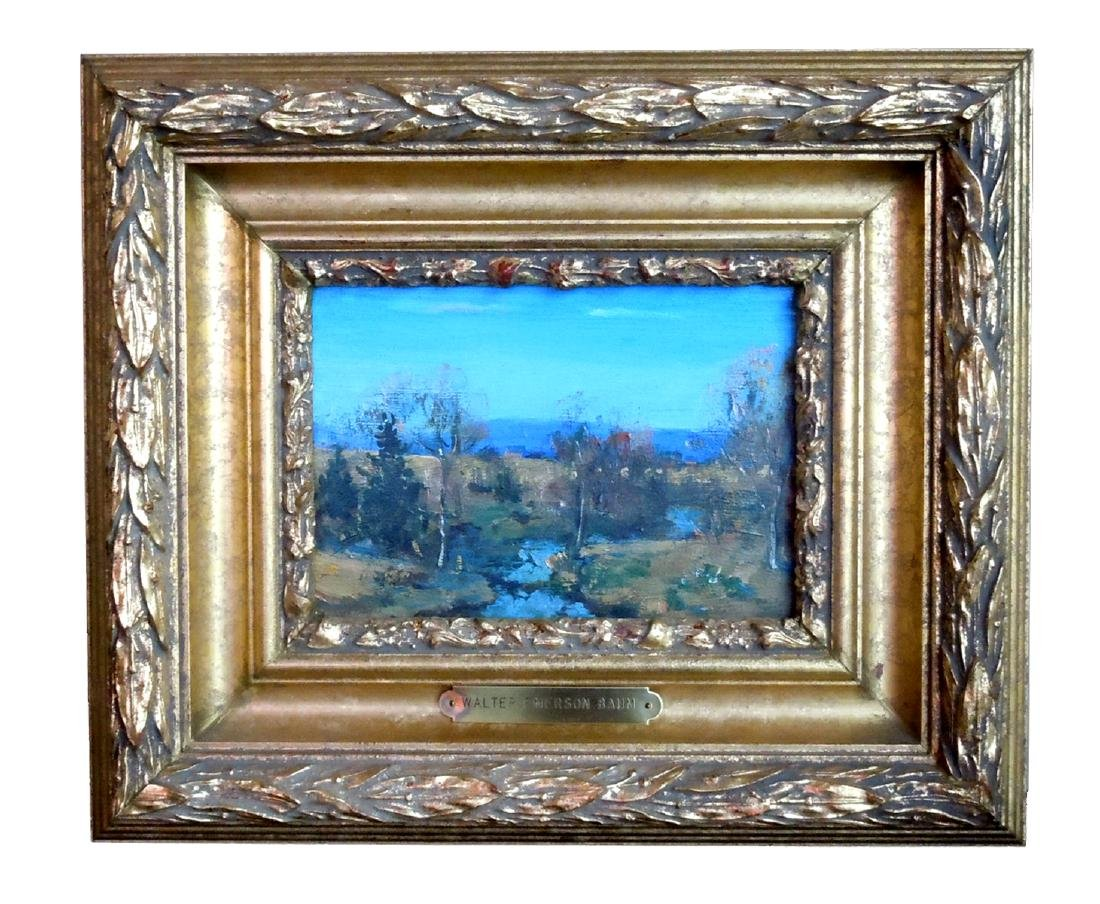 WALTER EMERSON BAUM PENNSYLVANIA HILLS OIL PAINTING