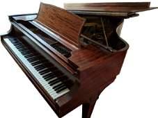 1911 STEINWAY MODEL A GRAND PIANO FLAME MAHOGANY CASE