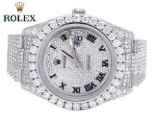 ROLEX DAY-DATE II 18Kt PRESIDENT 218239 DIAMOND 29.5Ct