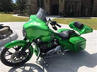 2013 HARLEY DAVIDSON STREET GLIDE CUSTOM MOTORCYCLE