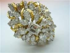 PLATINUM 18K 740CT DIAMOND LADIES RING GIA J VS2 91Ct