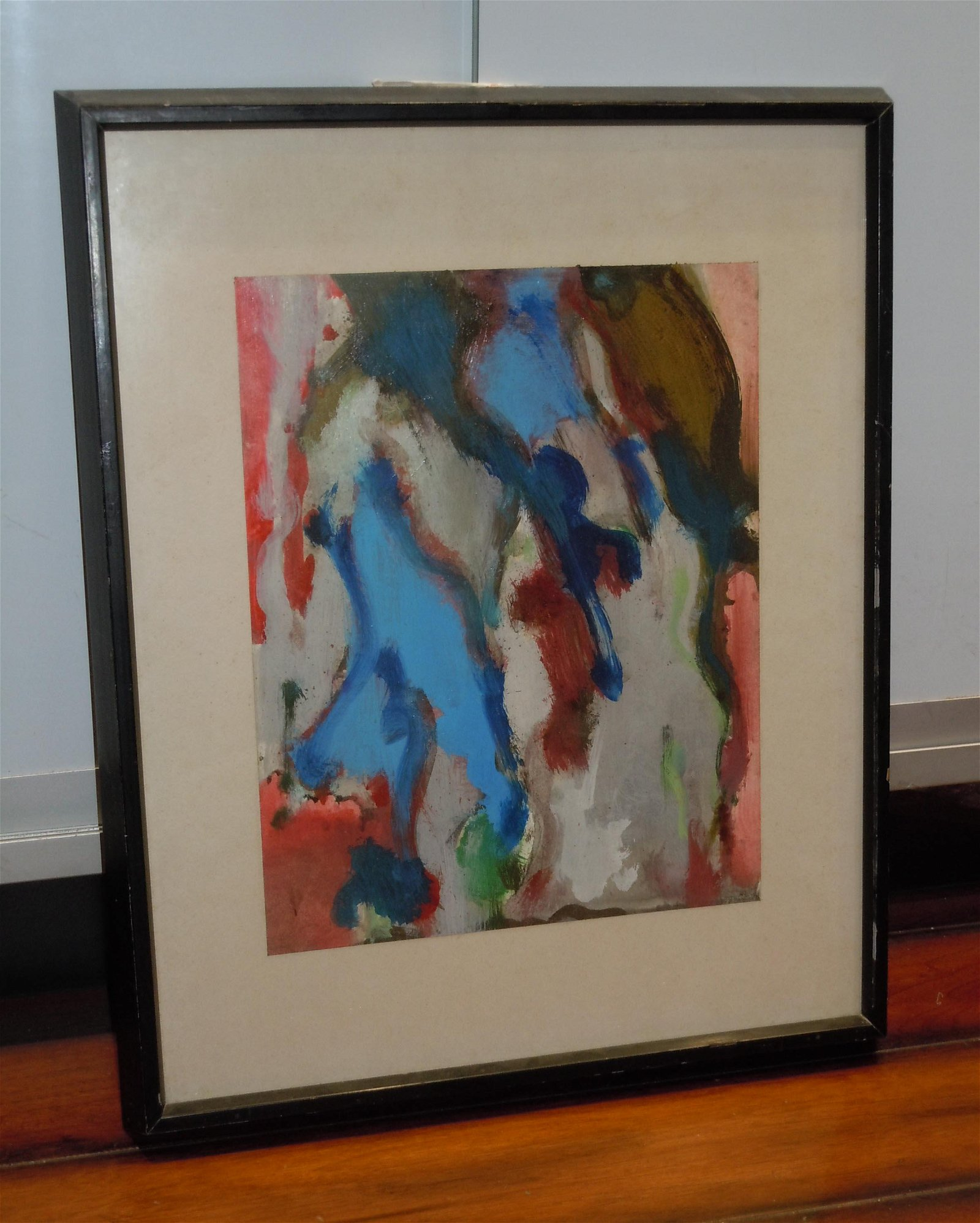 WILLIAM HORACE LITTLEFIELD ACRYLIC MODERN PAINTING 20c
