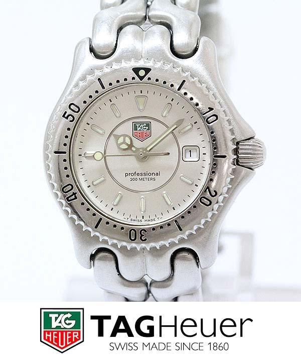 LADYS TAG HEUER WG131B 200M PROFESSIONAL CALENDAR WATCH