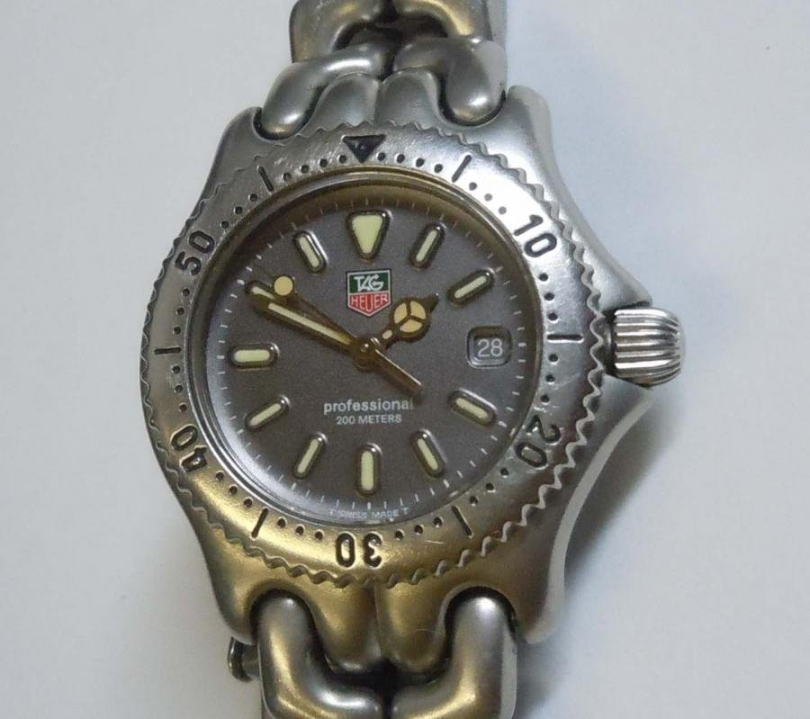LADYS TAG HEUER 200M PROF S95.215 STAINLESS GRAY DIAL