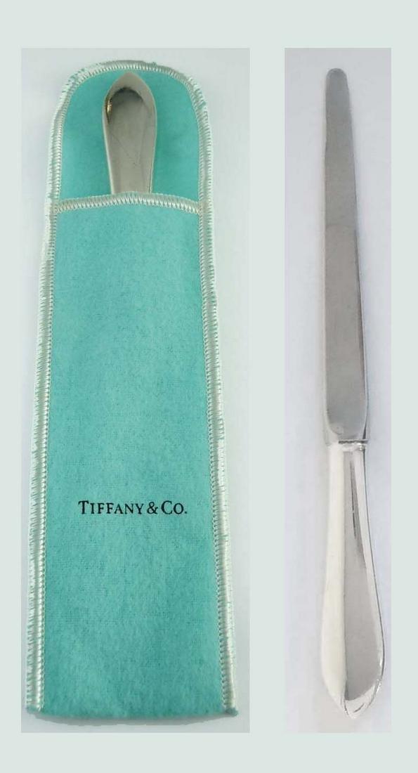 TIFFANY & Co STERLING SILVER LETTER OPENER KNIFE HANDLE